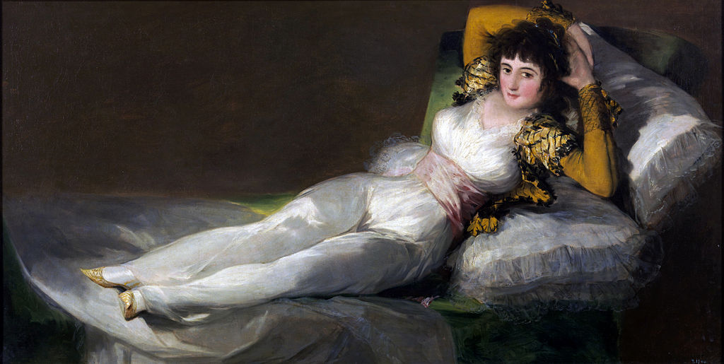 Francisco Goya, The Clothed Maja, circa 1800
