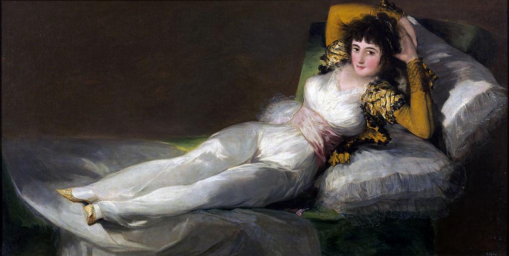 Francisco Goya, The Clothed Maja, circa 1800